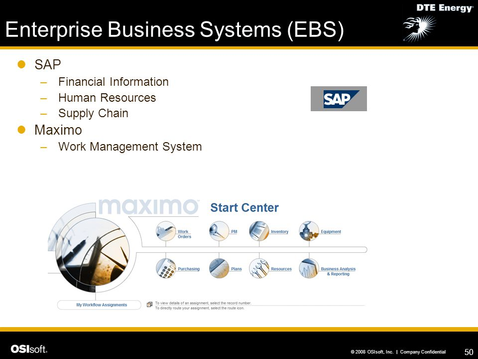 Enterprise Business Systems (EBS)