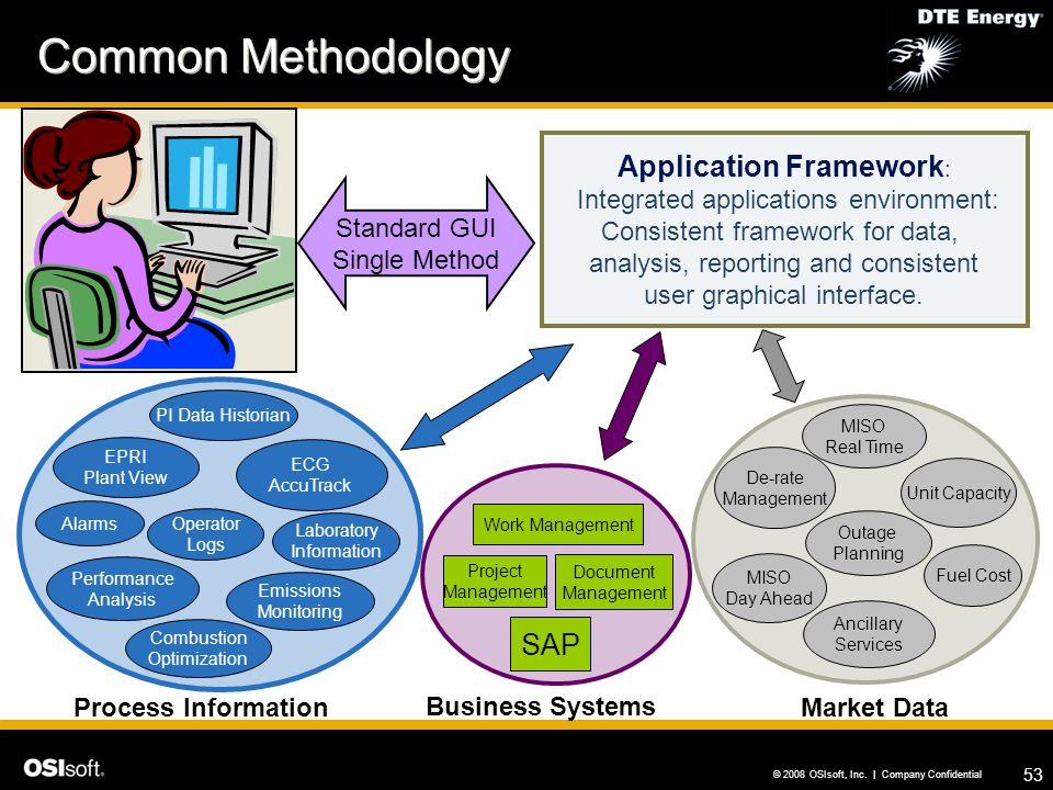 Common Methodology Application Framework: SAP