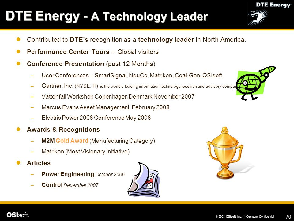 DTE Energy - A Technology Leader