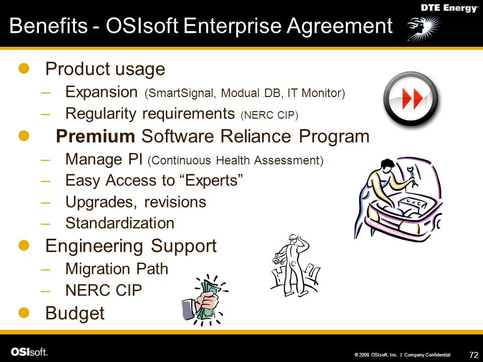 Benefits - OSIsoft Enterprise Agreement
