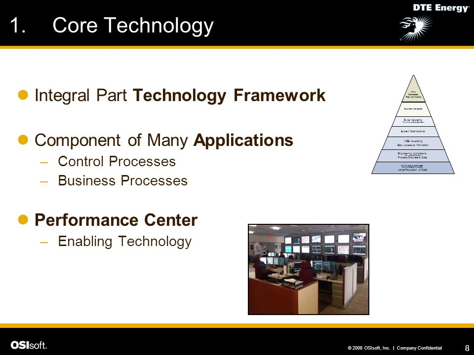Core Technology Integral Part Technology Framework