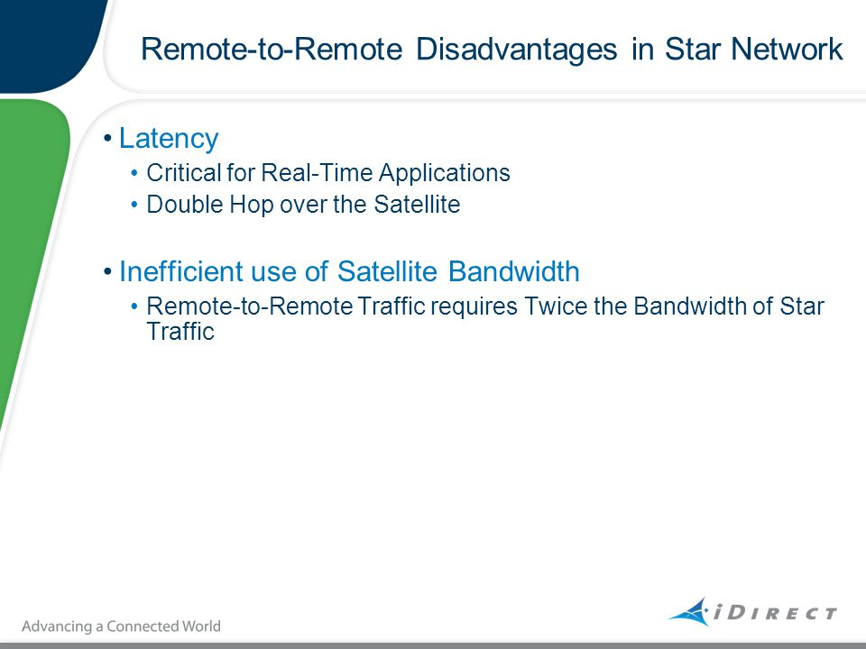 Remote-to-Remote Disadvantages in Star Network