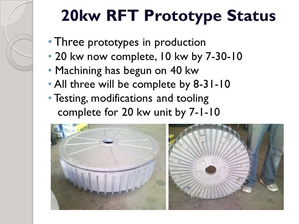 20kw RFT Prototype Status