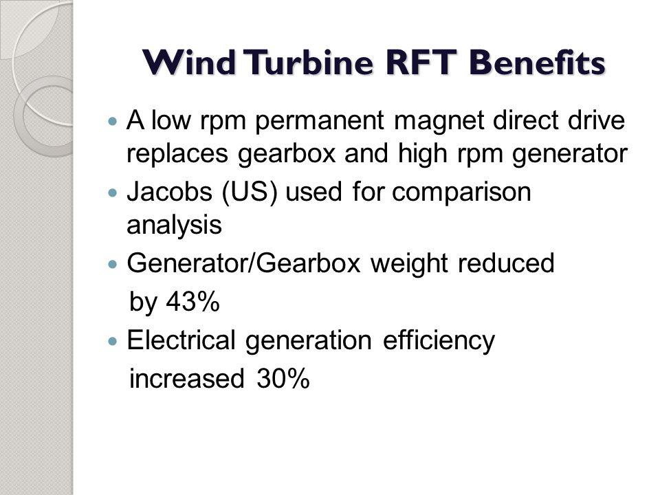 Wind Turbine RFT Benefits