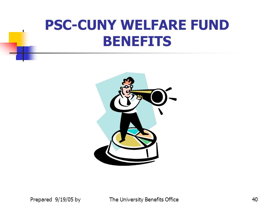 PSC-CUNY WELFARE FUND BENEFITS