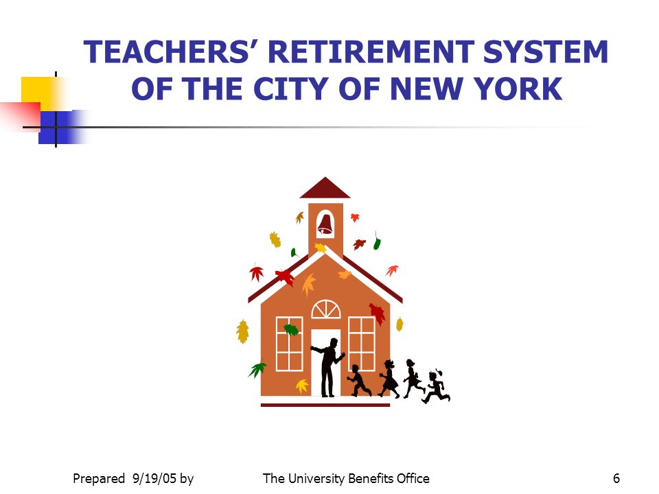 TEACHERS' RETIREMENT SYSTEM OF THE CITY OF NEW YORK