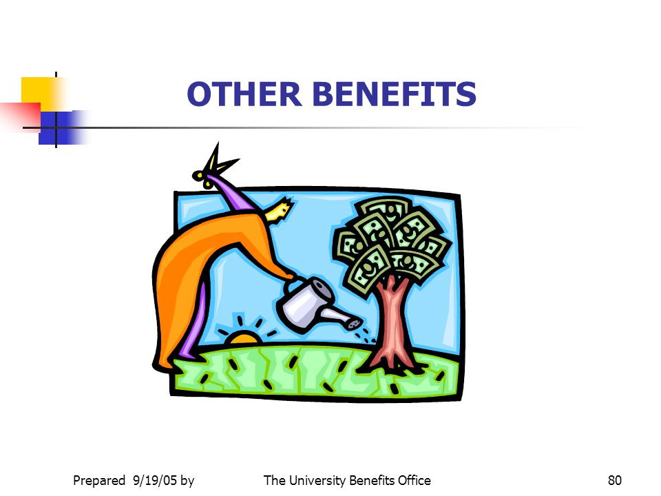 The University Benefits Office