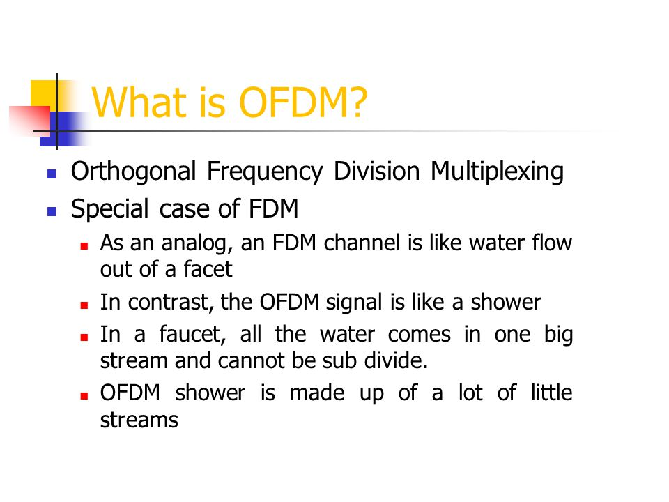 What is OFDM Orthogonal Frequency Division Multiplexing