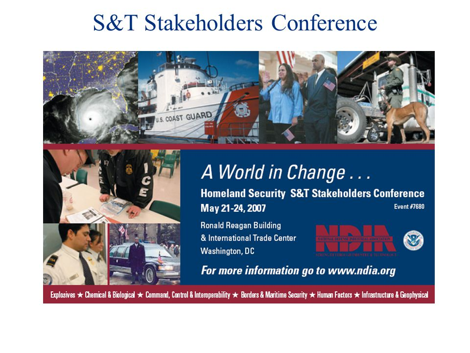 S&T Stakeholders Conference