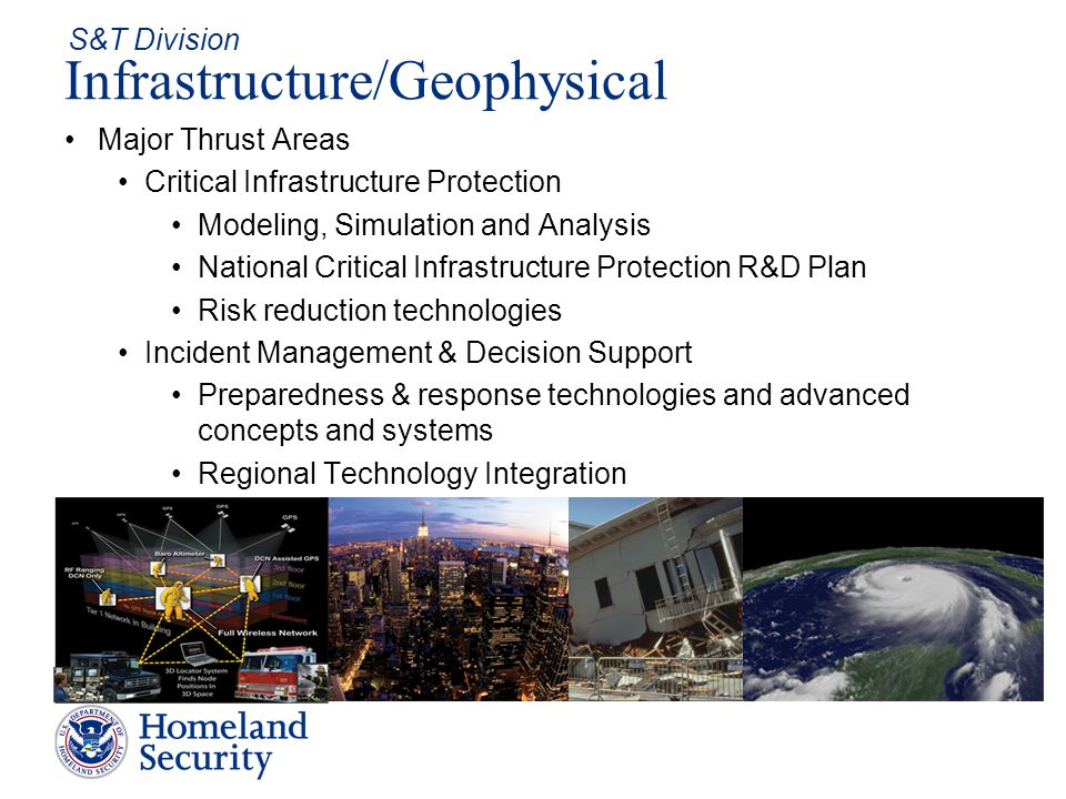 Infrastructure/Geophysical