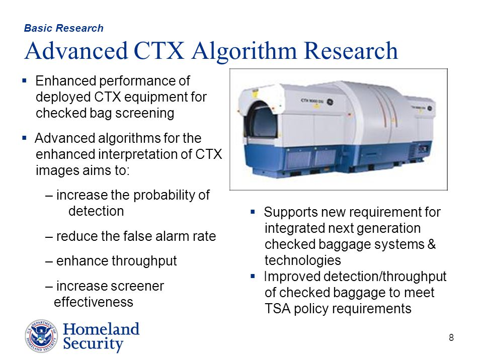 Basic Research Advanced CTX Algorithm Research