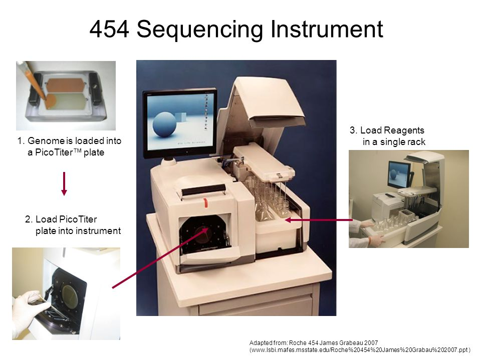 454 Sequencing Instrument