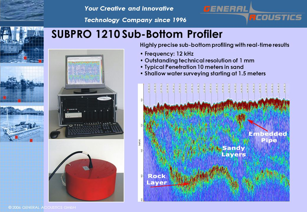SUBPRO 1210 Sub-Bottom Profiler