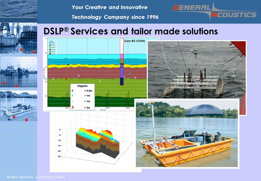 DSLP® Services and tailor made solutions