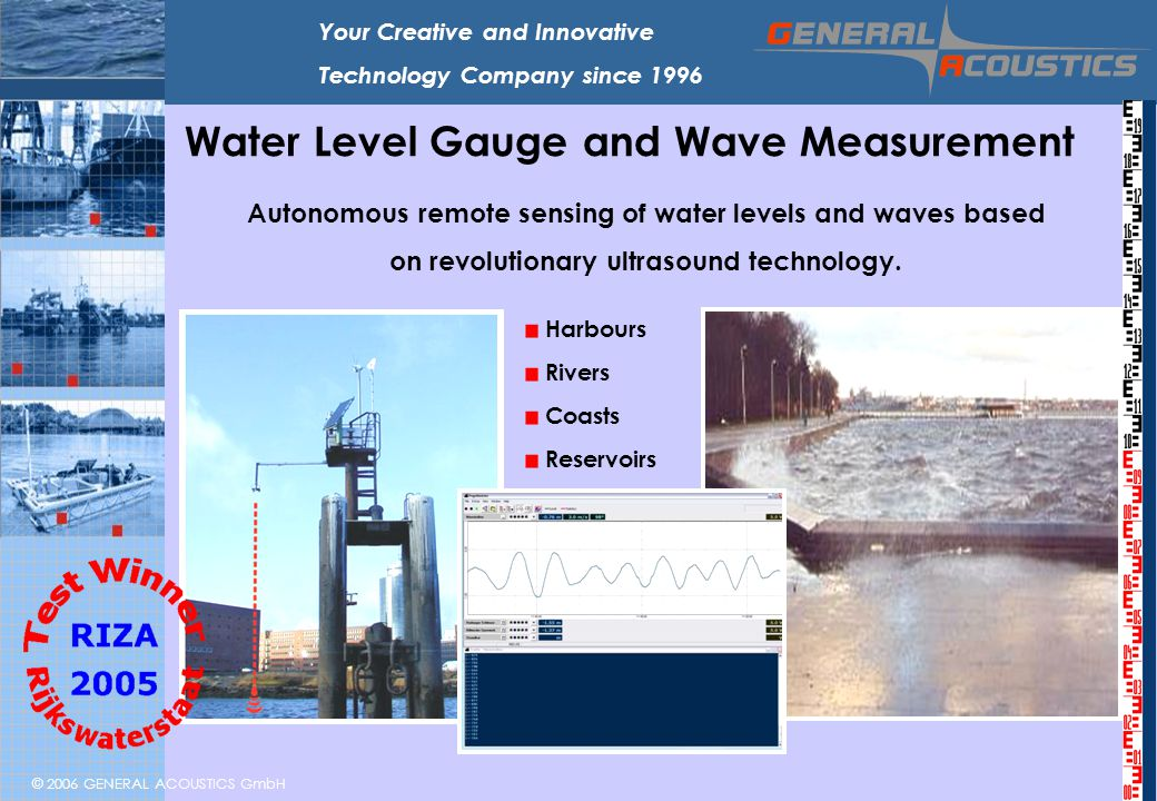 Water Level Gauge and Wave Measurement