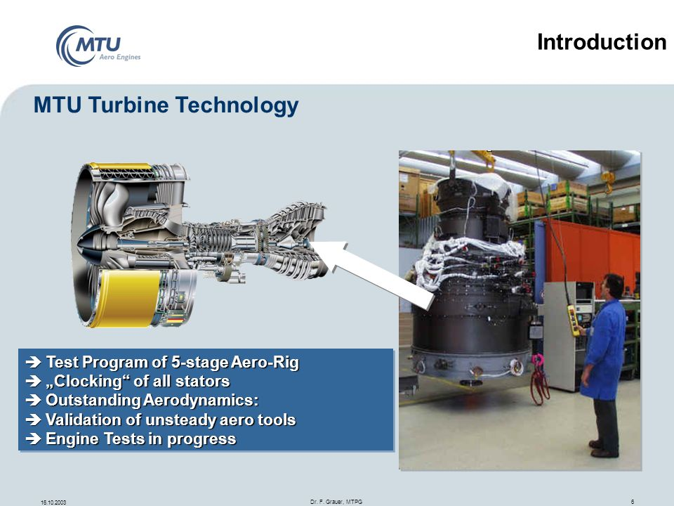 MTU Turbine Technology