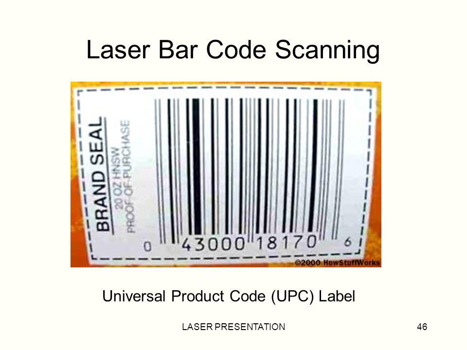 Laser Bar Code Scanning