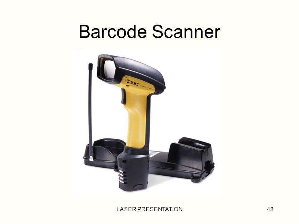 Barcode Scanner LASER PRESENTATION