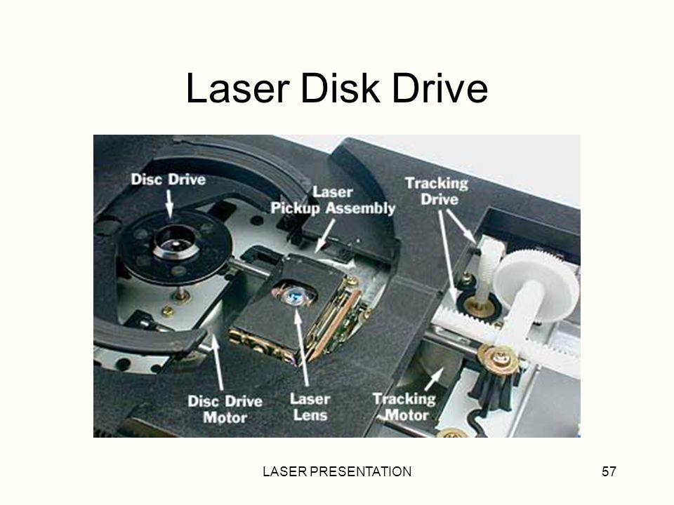 Laser Disk Drive LASER PRESENTATION