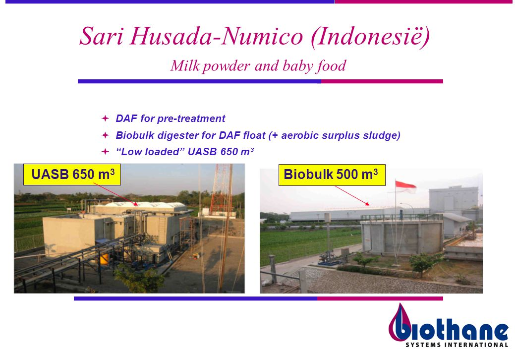 Sari Husada-Numico (Indonesië) Milk powder and baby food