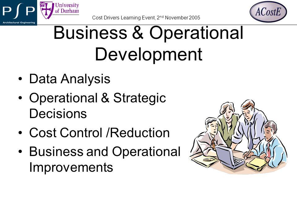 Business & Operational Development