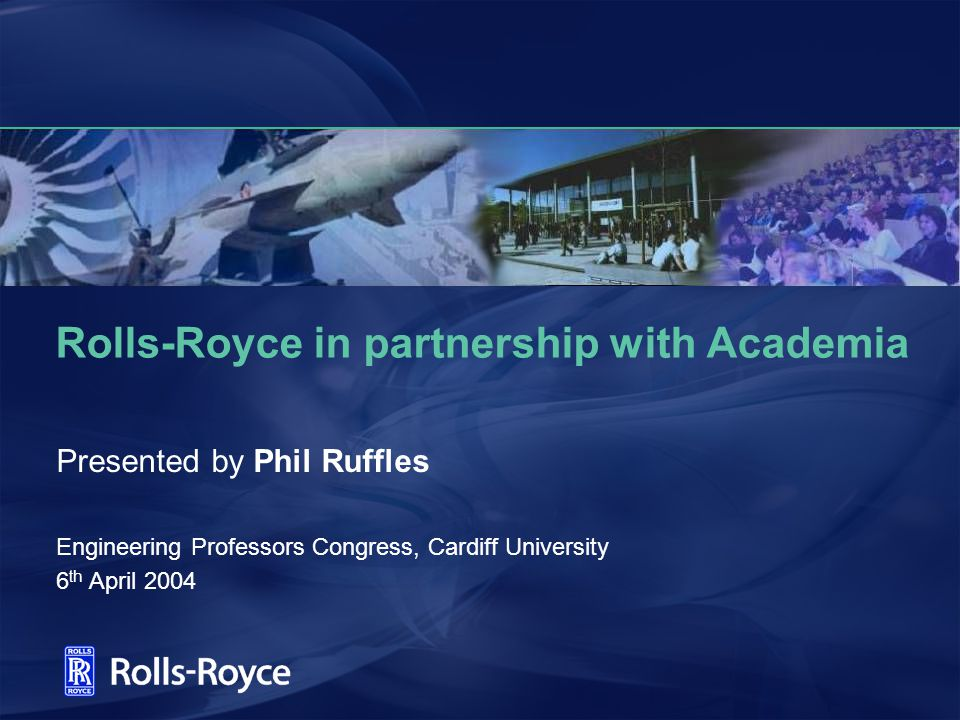 Rolls-Royce in partnership with Academia