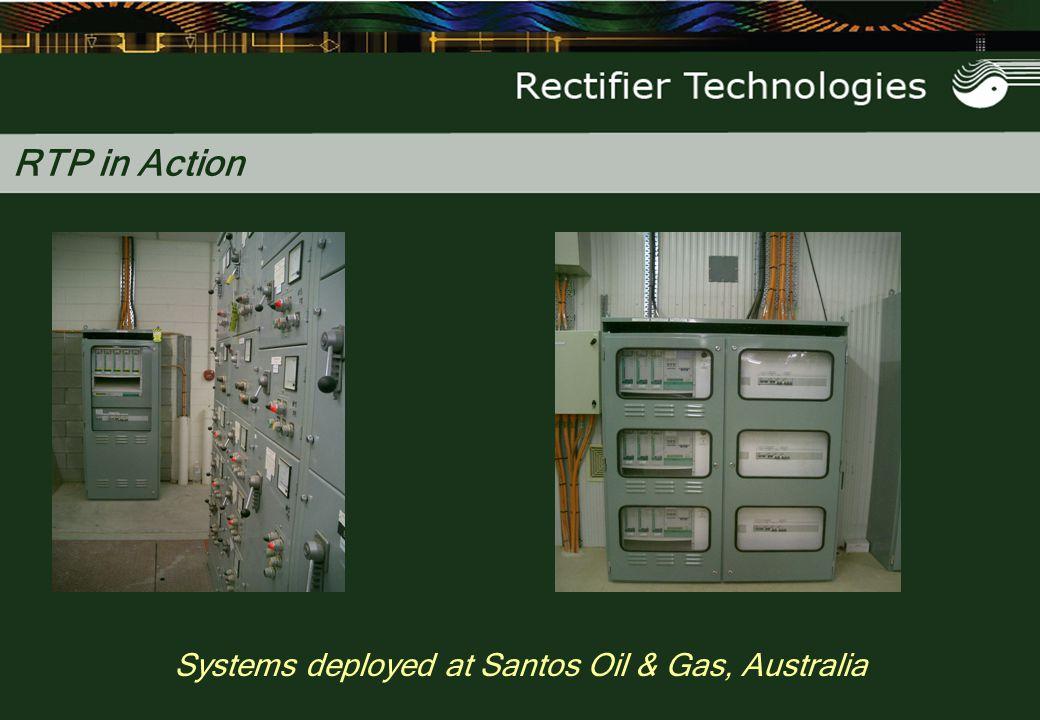 Systems deployed at Santos Oil & Gas, Australia