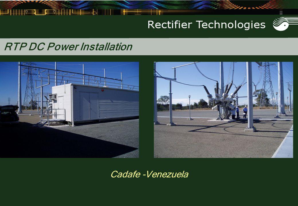 RTP DC Power Installation