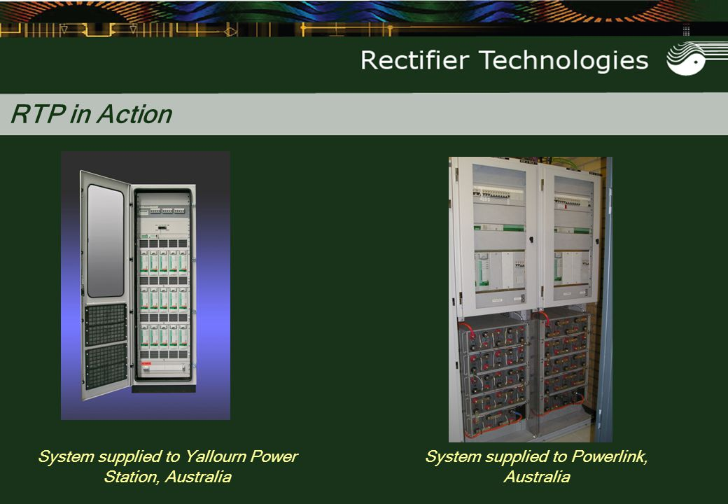 RTP in Action System supplied to Yallourn Power Station, Australia