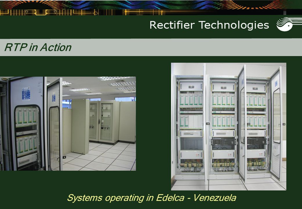Systems operating in Edelca - Venezuela