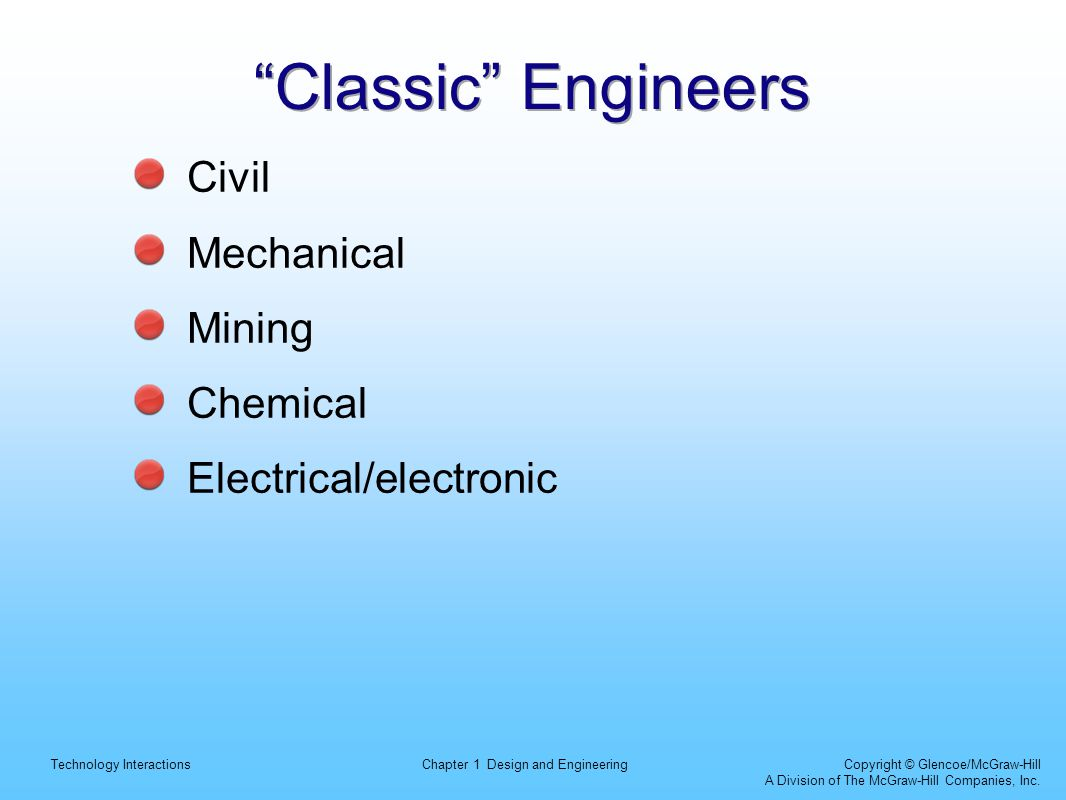 Classic Engineers Civil Mechanical Mining Chemical