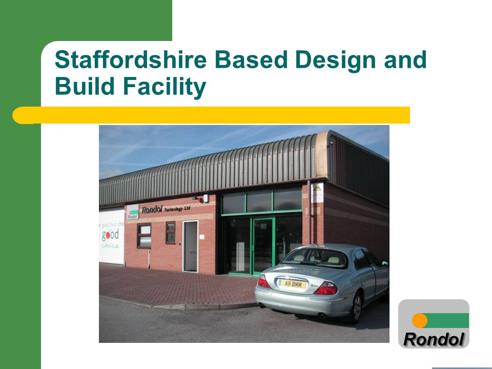 Staffordshire Based Design and Build Facility