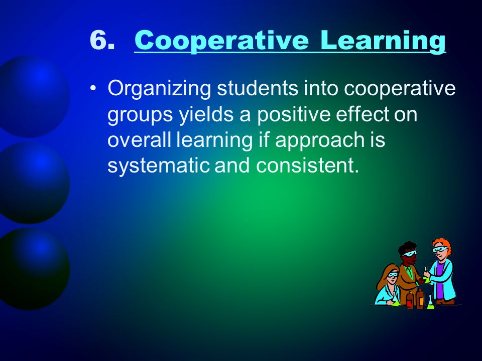 6. Cooperative Learning