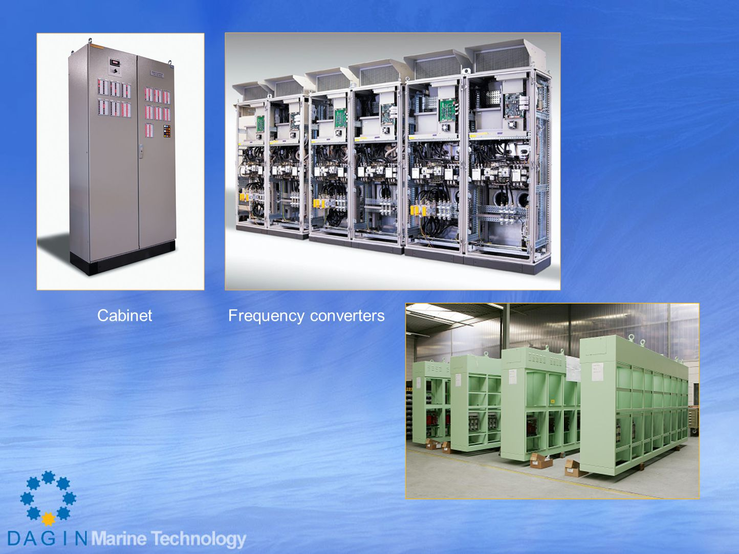 Cabinet Frequency converters