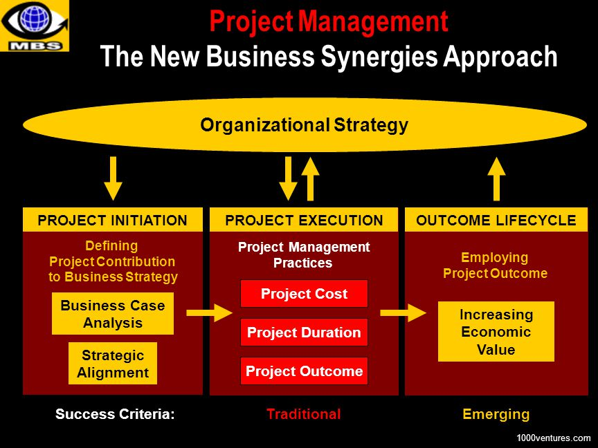 Project Management The New Business Synergies Approach