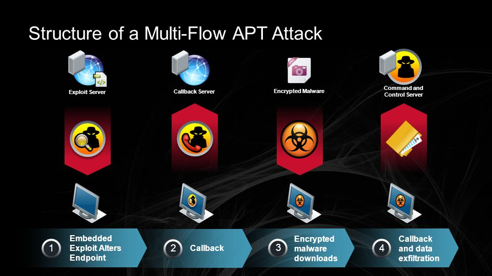 Structure of a Multi-Flow APT Attack