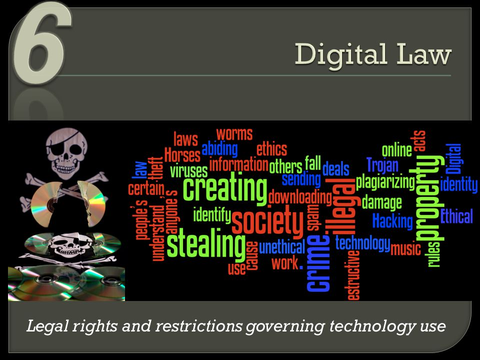 Legal rights and restrictions governing technology use