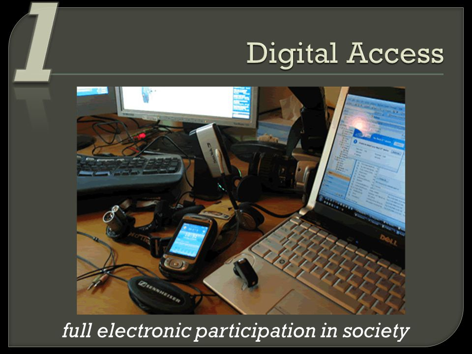 full electronic participation in society