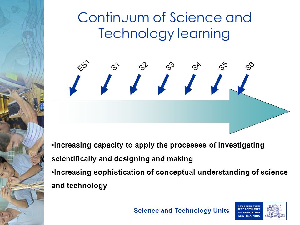 Continuum of Science and Technology learning