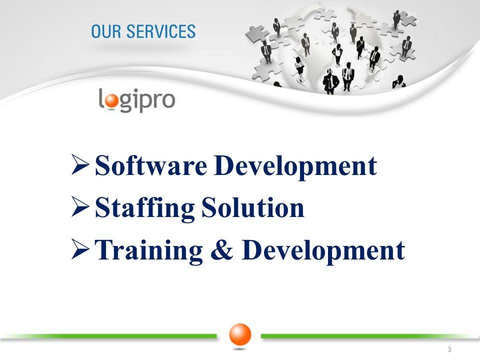 Software Development Staffing Solution Training & Development