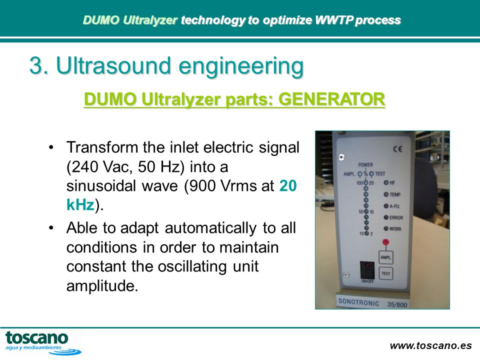 3. Ultrasound engineering