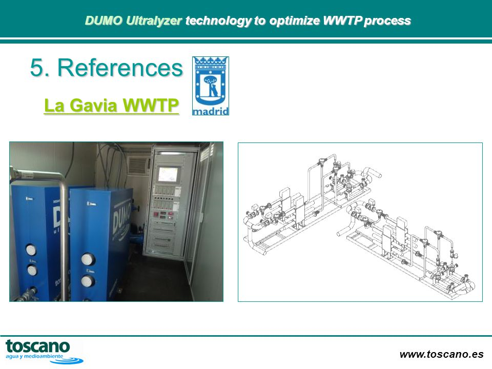 5. References La Gavia WWTP