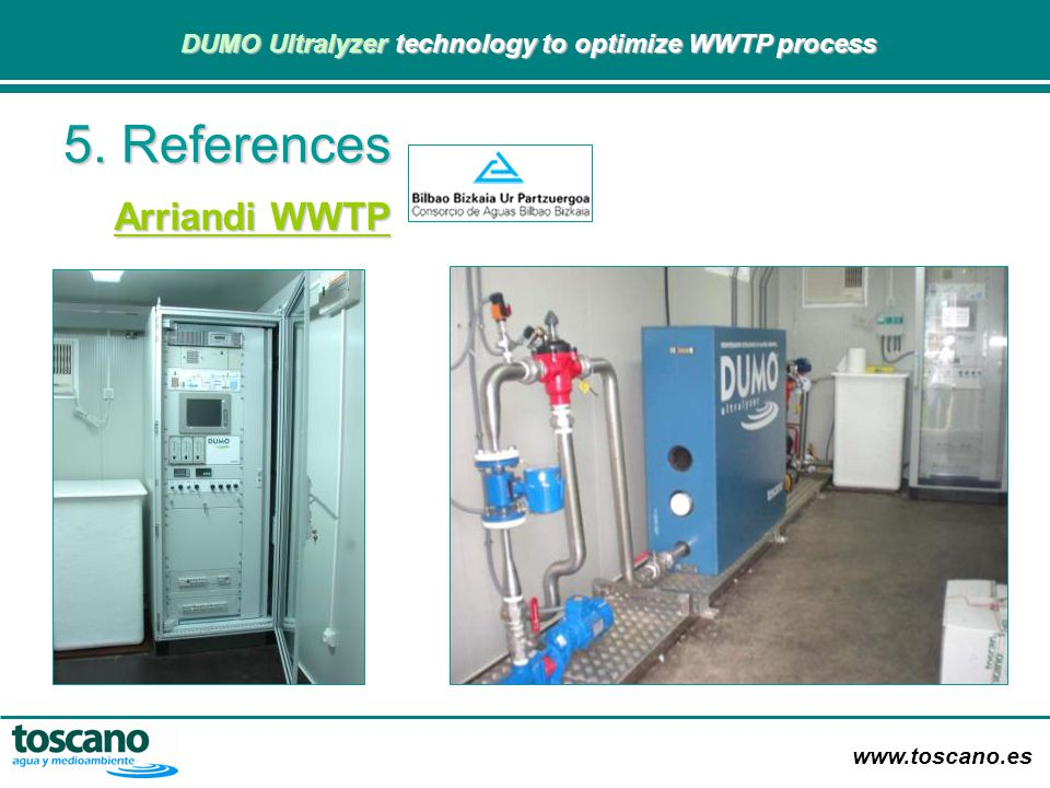 5. References Arriandi WWTP