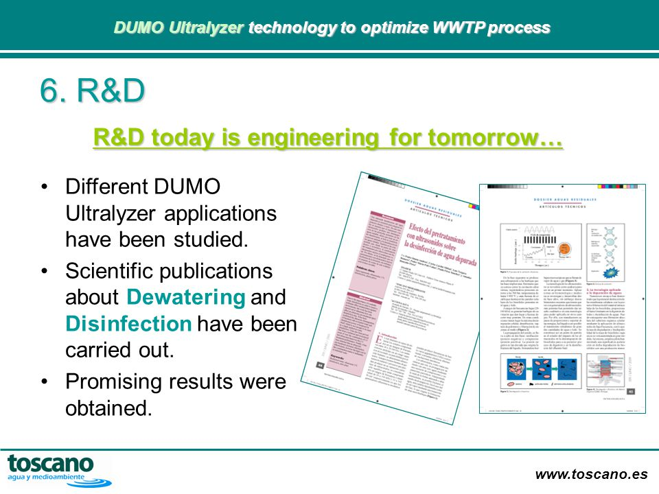 R&D today is engineering for tomorrow…