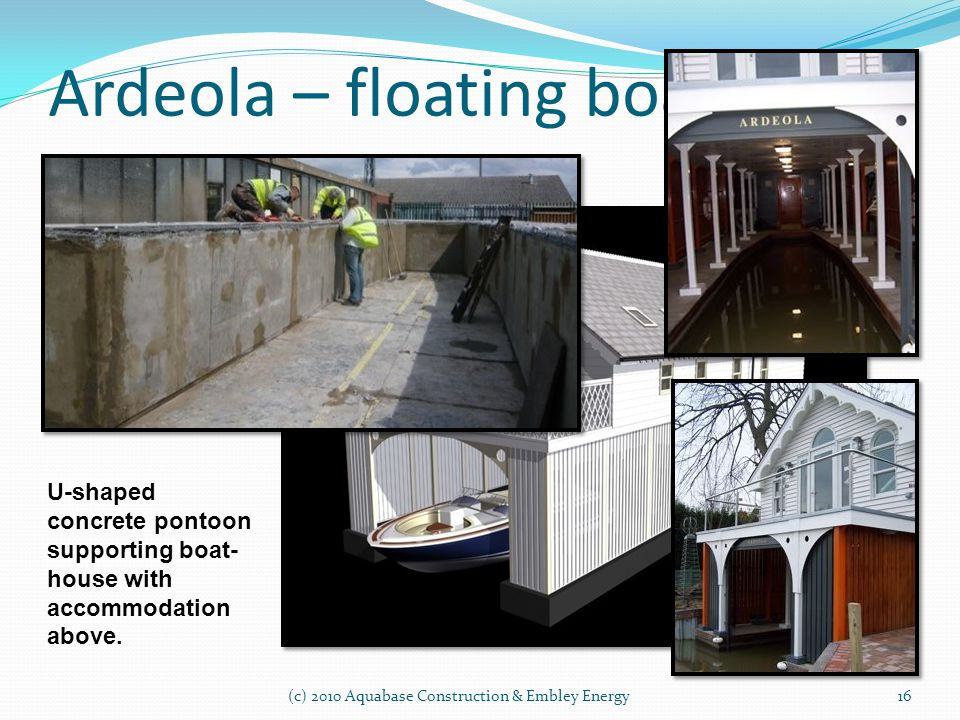 Ardeola – floating boathouse
