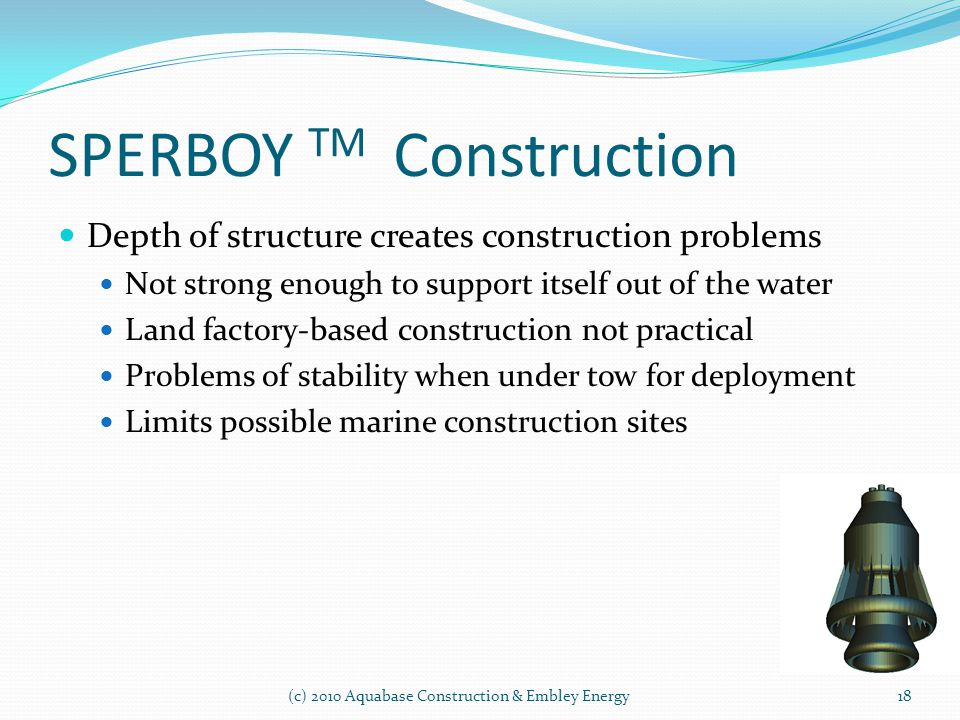 SPERBOY TM Construction