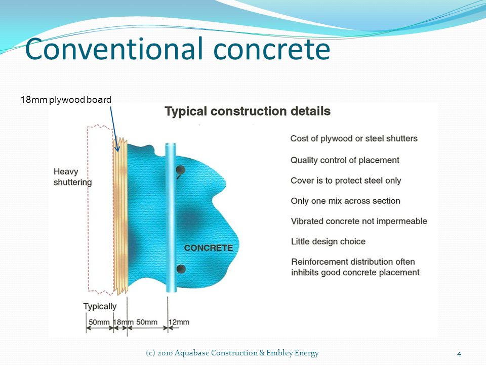 Conventional concrete