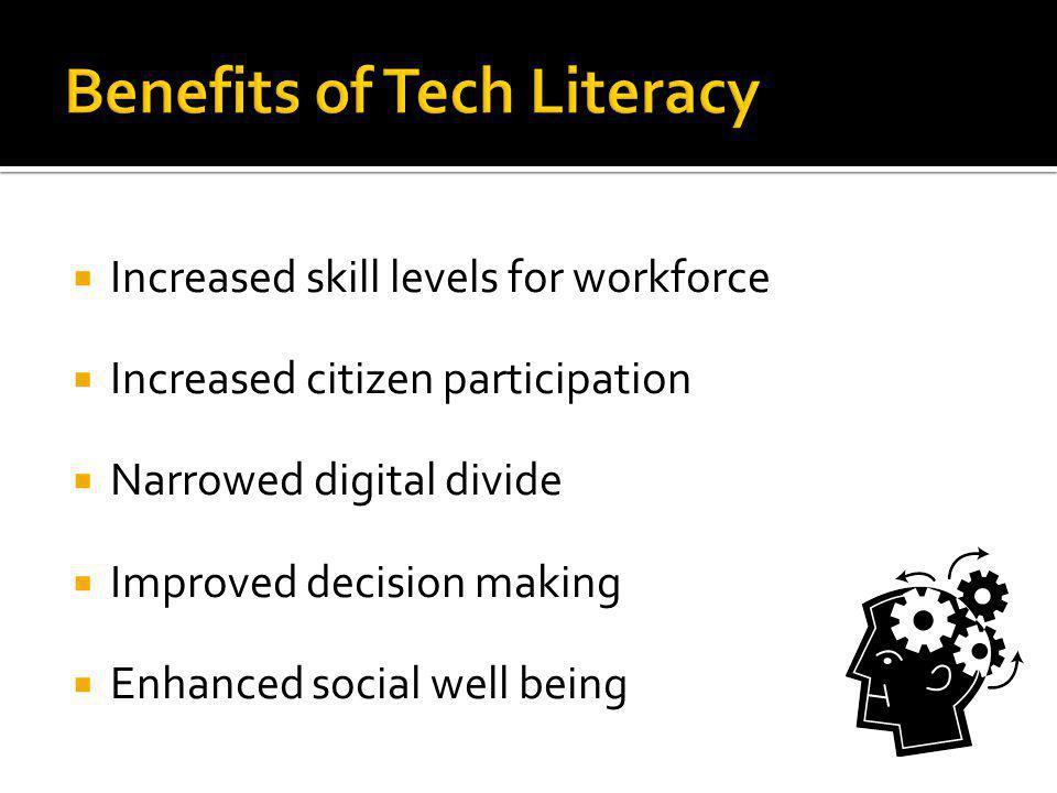 Benefits of Tech Literacy