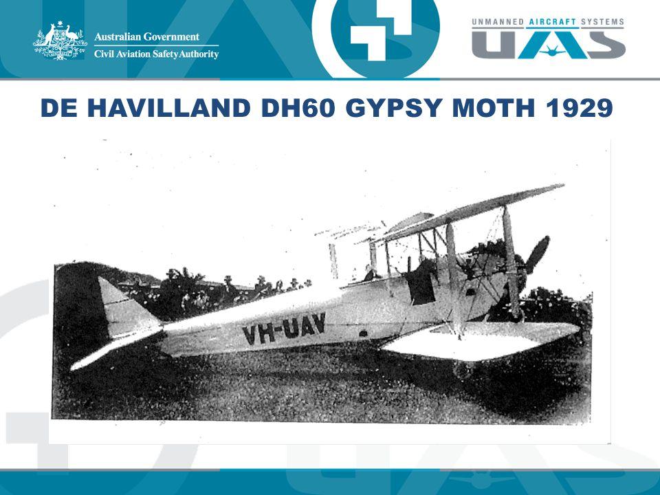 De Havilland DH60 Gypsy Moth 1929