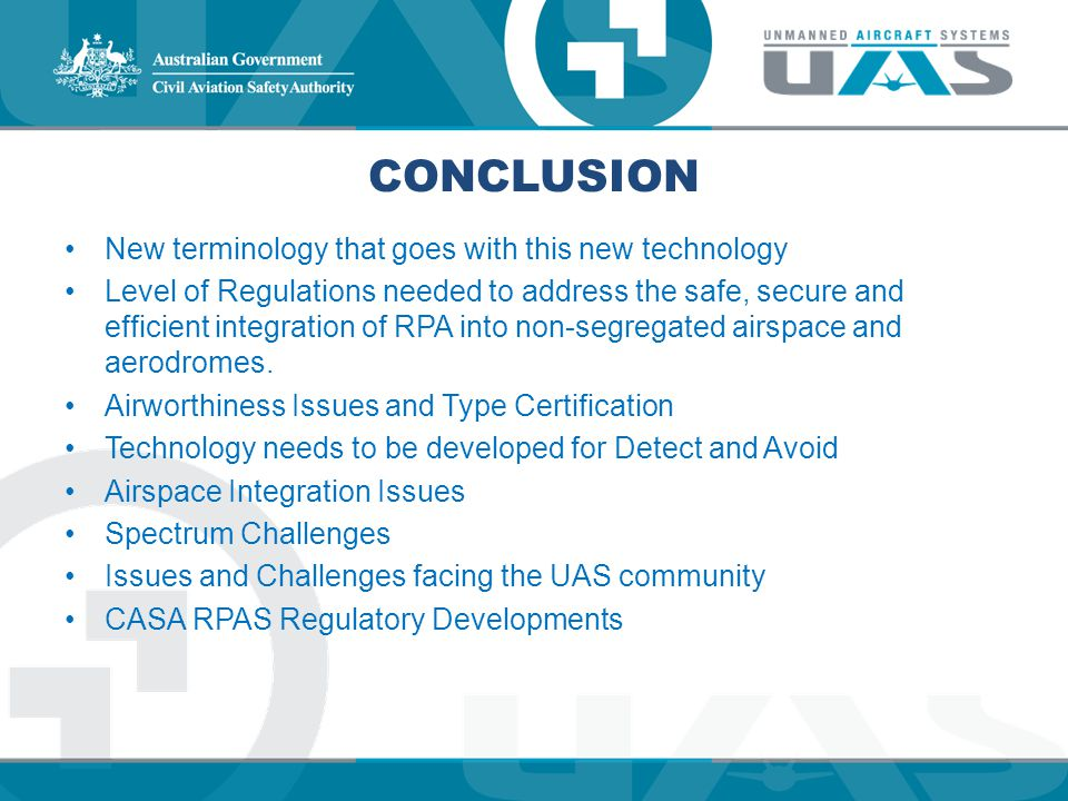 Conclusion New terminology that goes with this new technology